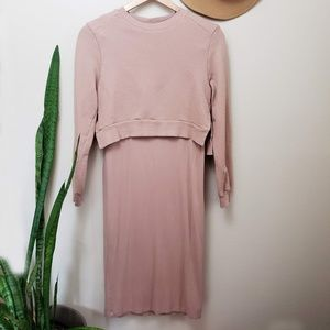 ASOS nursing/maternity dress laryed long sleeve